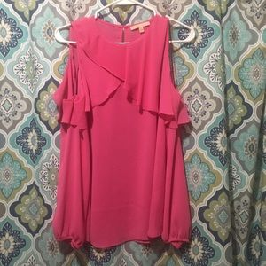 Gibson Latimer Pink OTS Blouse